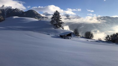 Ausblick Bergblick, Winter