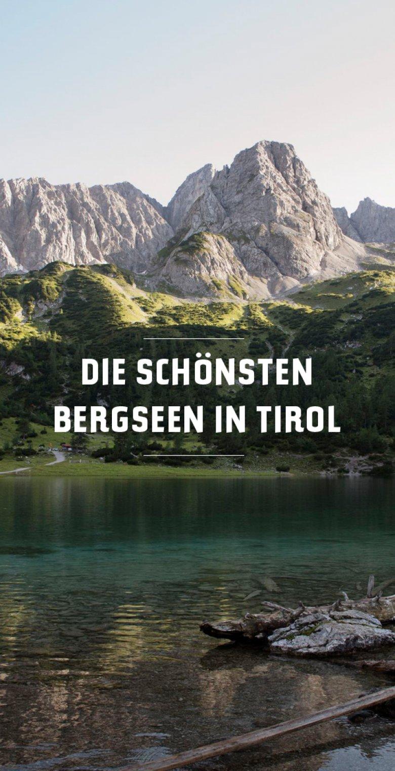 Bergseen Tirol
