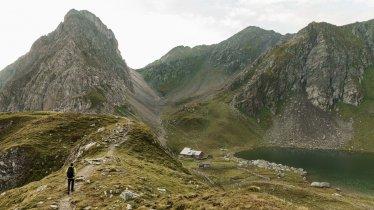 Die Obstanserseehütte am gleichnamigen See