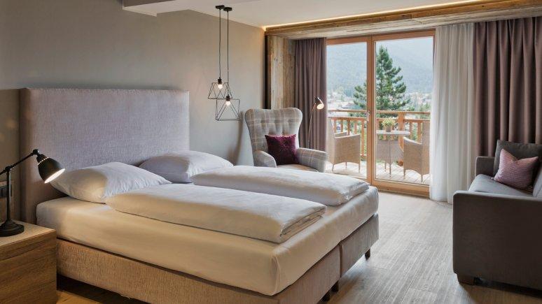 Zimmer im Natur & Spa Hotel Lärchenhof, © Natur & Spa Hotel Lärchenhof