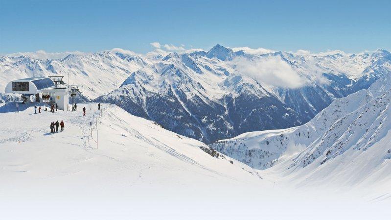Skigebiet Kappl, © TVB Kappl