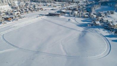 Fairhotel Loipe Luftaufnahme