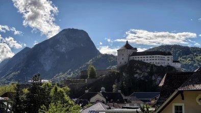 Villa Gartenblick Kufstein Ausblick Festung