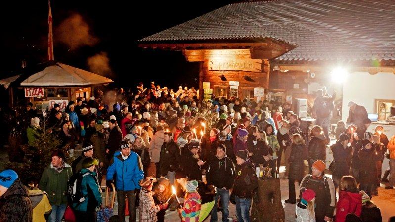 Beim Bergsilvester in Hopfgarten wird das neue Jahr auf der Hohen Salve begrüßt, © Thomas Trinkl
