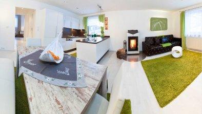 Wohn- und Essbereich Outdoorlodge, © im-web.de/ DS Destination Solutions GmbH (eda3 Naud)