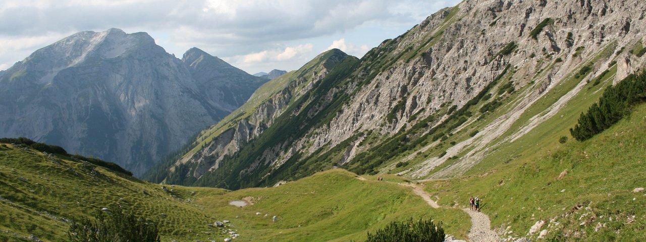Wandern in der Silberregion Karwendel, © Tirol Werbung/Fuchs Benjamin