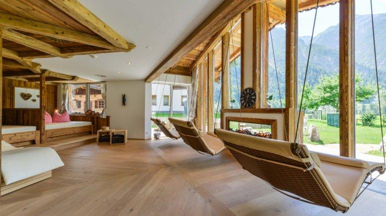 Schaukeln Oberlechtaler Hof, © Hotel Oberlechtaler Hof