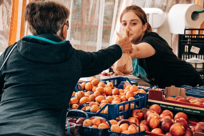 Freitag und Samstag sind Markttage in Lienz.
