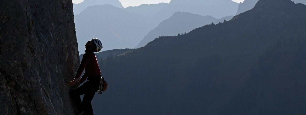 Klettern im Tannheimer Tal, © TVB Tannheimer Tal/Wolfgang Ehn