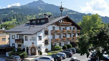 Alpenappartement-Europa St. Johann Sommer Außenans