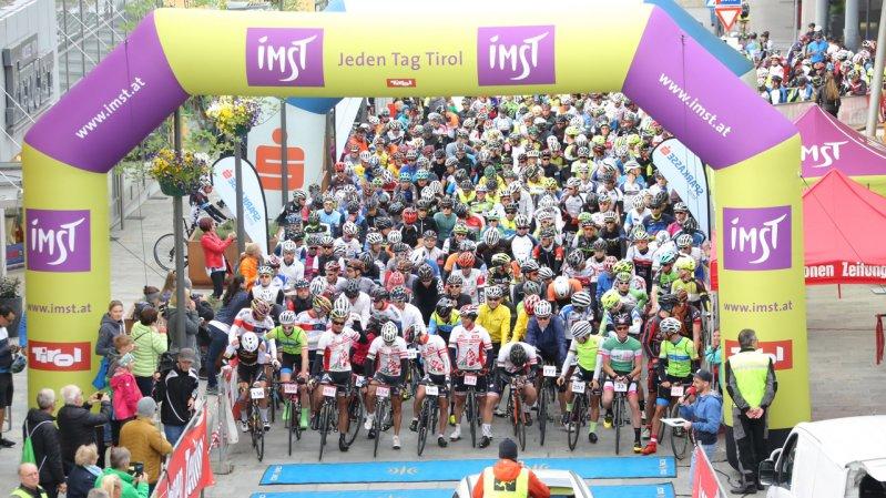 Start des Imster Radmarathons, © sportograf