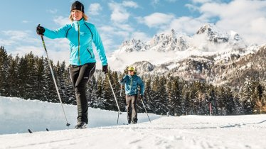 Langlaufen in den Kitzbüheler Alpen, © Mirja Geh / Eye 5