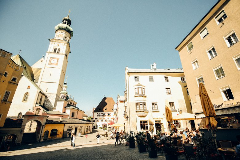 Stadtplatz – Hall in Tirol