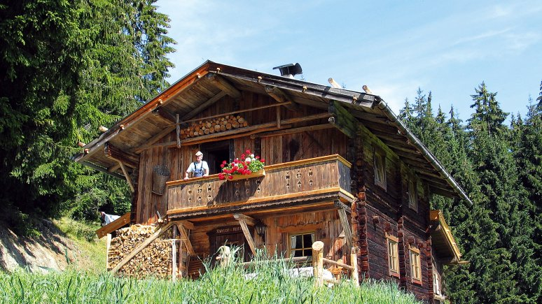 Hütten in Tirol: Kohler Hütte, © HMS Hütten-Miet-Service GmbH