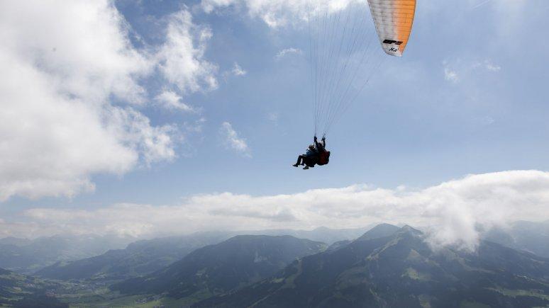 Paragleiten von der Hohen Salve, © Tirol Werbung/Paul Kranzler