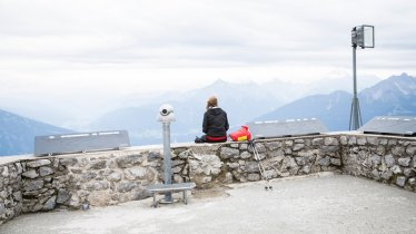 Ausblick vom Hafelekar auf der Innsbrucker Nordkette, © Tirol Werbung/Dominik Gigler