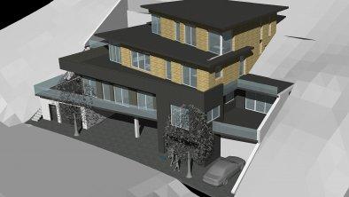 Skizze aparthotel ADRENALIN - Südost