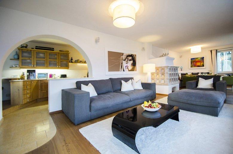 Villa Lion Hill Wohnzimmer