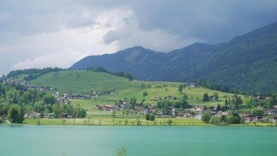 Haus Seefried am See Aussicht im Sommer