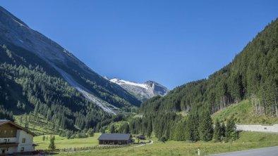 Schöner, freier Ausblick zum Gletscher