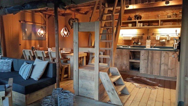 Living Ferienparadies Natterer See – Safari-Lodgezelt