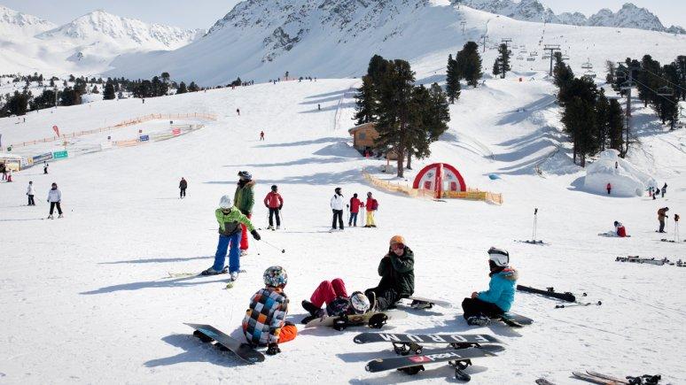 Nauderix Kinderland im Skigebiet Nauders, © Tirol Werbung/Verena Kathrein