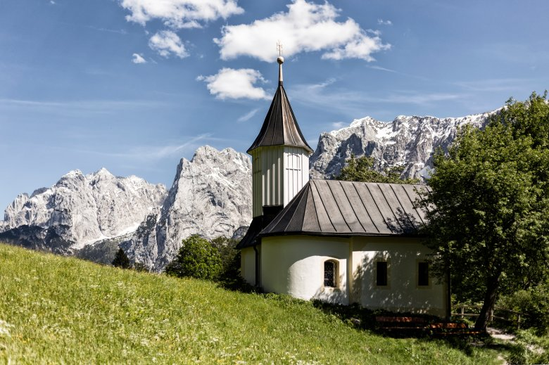 Die Antoniuskapelle im Kaisertal. (c) Andreas Haller