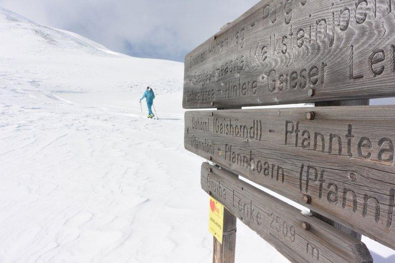Skitouren auf den Spuren der Schmuggler im Villgratental.