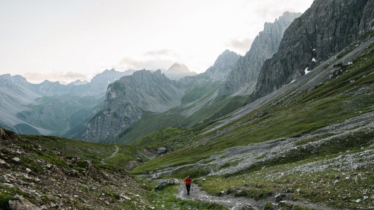 Aufstieg zur Steinseehütte