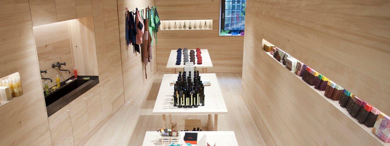 """Concept Store """"Tiroler Edles"""" in der Innsbrucker Altstadt, © XeniaTrampusch"""