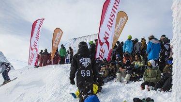 Am Stubaier Gletscher trifft sich die Weltelite der Freeskier zum Weltcup, © Florian Breitenberger