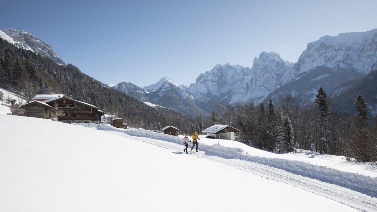 Winterwandern im Kaisertal, © Tirol Werbung / Oliver Soulas