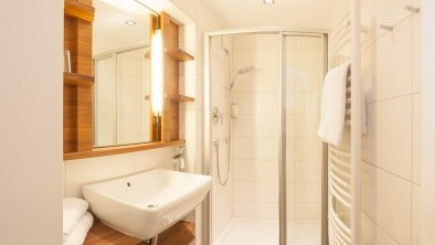 Badezimmer der kleinen Hof-Suite