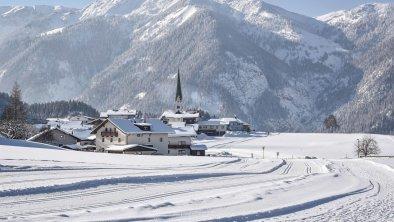 Brandenberg, Dorf, Winter, Langlaufloipe, - Brande, © Alpbachtal Tourismus