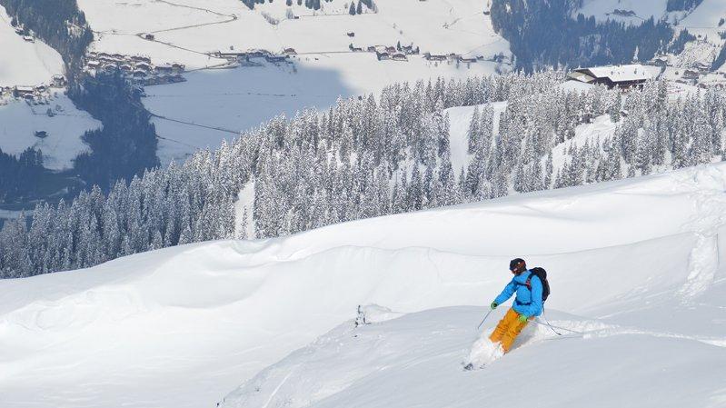 Das Alpbachtal hält für Freerider einige eher sanfte Backcountrys bereit, © Ski Juwel Alpbachtal Wildschönau
