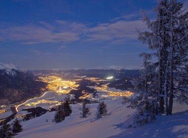 Ausblick vom Rangger Köpfl auf Innsbruck