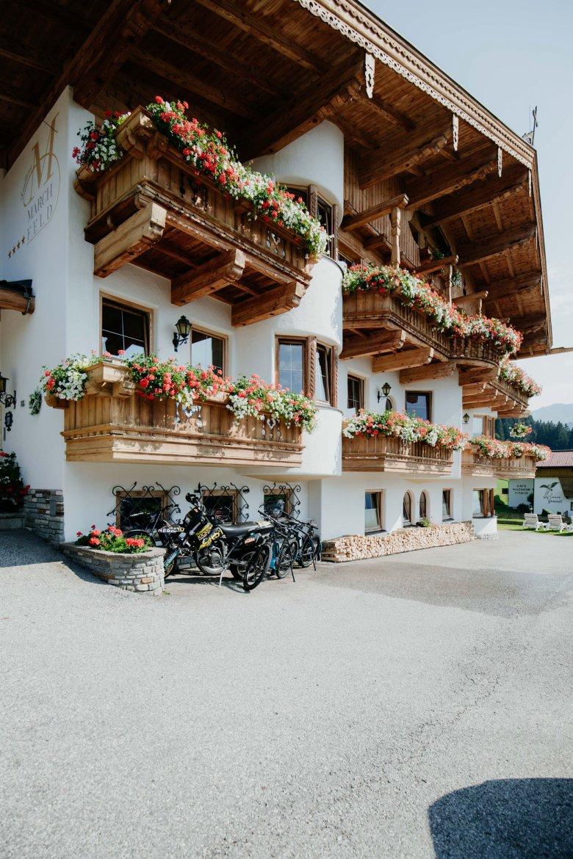 Das kleine Hotel Marchfeld in Oberau