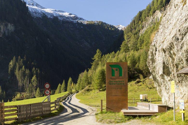 Tor zum Nationalpark Hohe Tauern: Der Eingang zum Umbaltal.