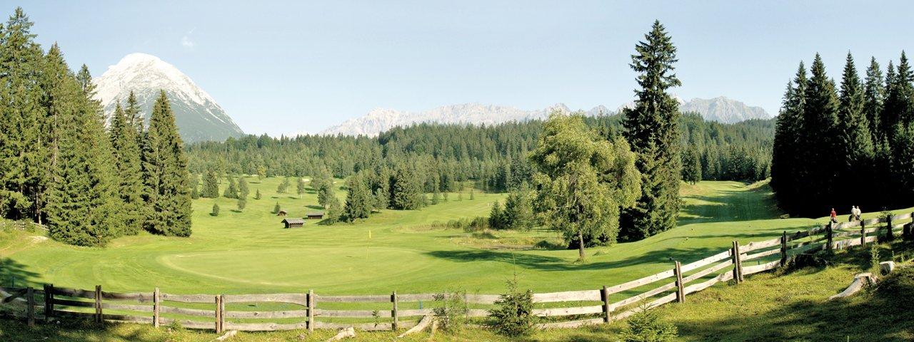 Golfplatz Wildmoos in Seefeld, © Olympiaregion Seefeld