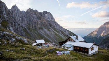 Württemberger Haus in den Lechtaler Alpen, © Tirol Werbung/Dominik Gigler