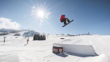 High Five Snowpark , © Bergbahnen Steinplatte