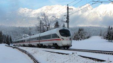 ICE der Deutschen Bahn, © Tirol Werbung