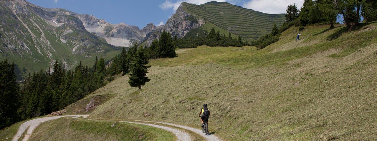 Mountainbiken im Wipptal, © Tirol Werbung/Markus Jenewein