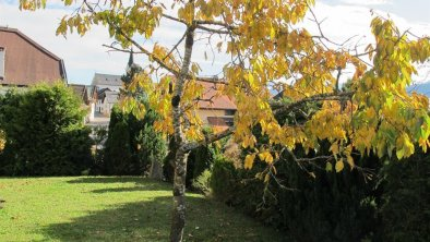 Garten Herbst