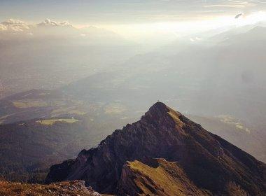 Gute Aussichten von der Nockspitze. , © Anja Schauz