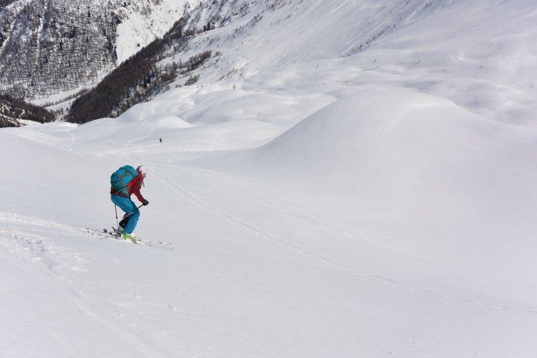 Mindestens so wichtig wie der Weg zum Gipfel: Die schöne Abfahrt ins Villgratental.