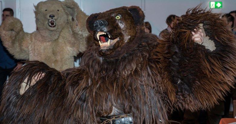 Die Bären …:… gehören zu den wilden Platzmachern.