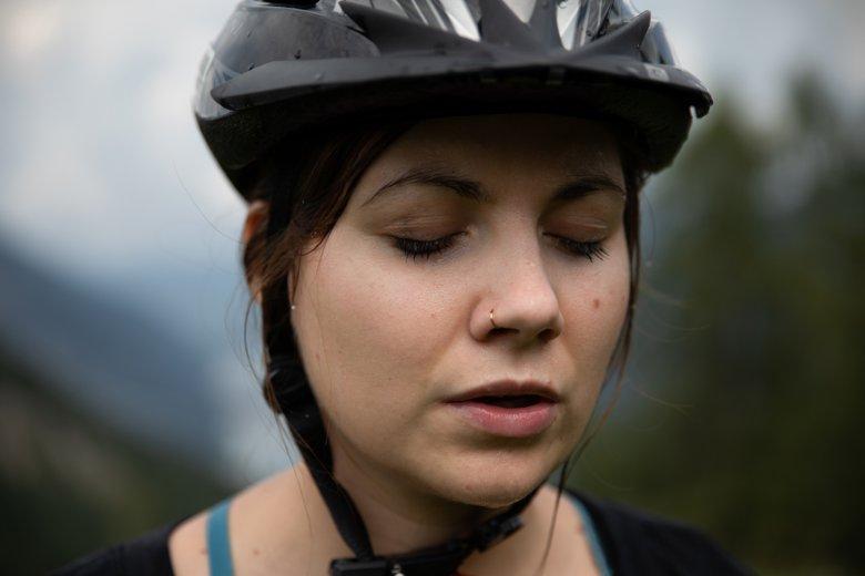 Mountainbike-Close-up