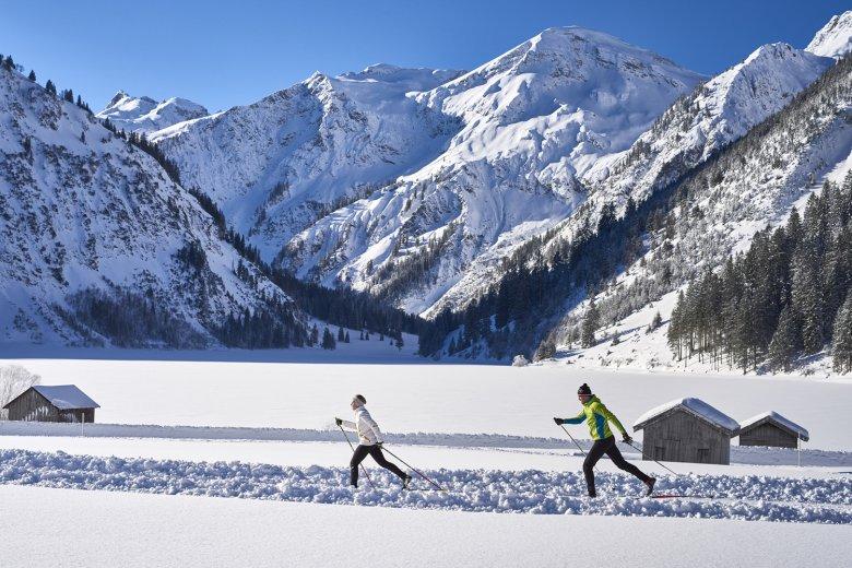 Ski-Trail in Tannheim @ TVB Tannheimer Tal