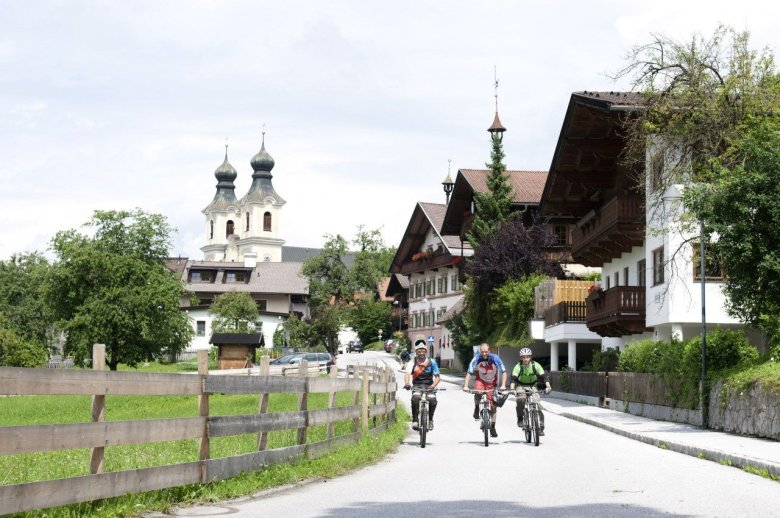 Gute Unterkünfte für Mountainbiker gibt's in Kirchberg genügend. , © Tirol Werbung, Michael Werlberger